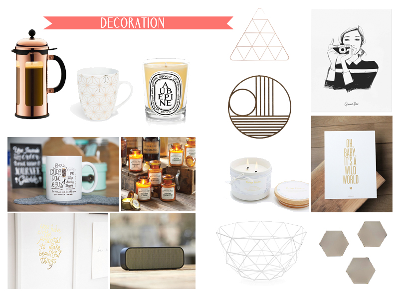 Decoration wishlist