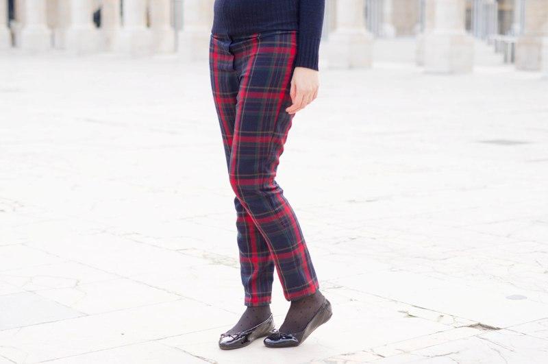Pantalon Tartan -Atelier de dina 6