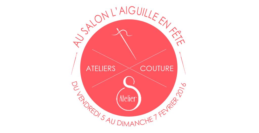 Nos ateliers couture au salon aef atelier svila - Salon aiguille en fete ...