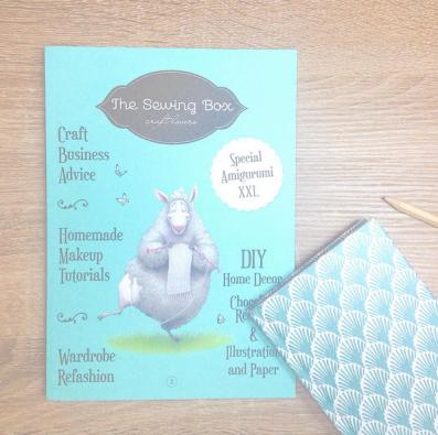 the sewing box magazine