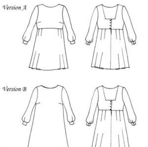 robe oxanne annarose pattern