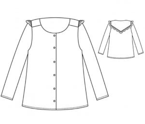 blouse vertige atelier scammit