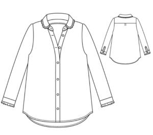 atelier scammit chemise liseron
