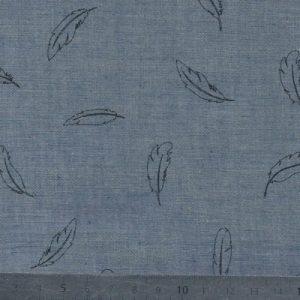 chambray-gris-bleu-motif personnel