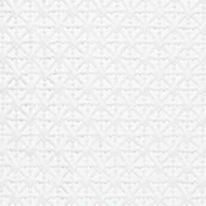 MONDIAL TISSUS - Tissu guipure géometrique 50 x 120cm laize