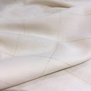 cotonnade-blanc-casse-a-grands-carreaux-lurex-dores-prix-pour-10-cm-tissu-made-in-france