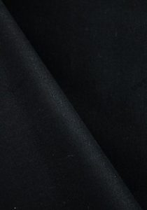 tissu-gabardine-strech-peau-de-peche-noire