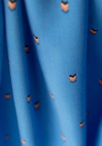 tissu-viscose-arrows-bleu