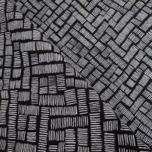 tissu-rayon-africa-noir-blanc-casse-x-10-cm