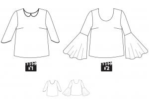 blouse Eleven Fiat lux