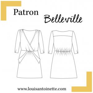 robe belleville louis antoinette
