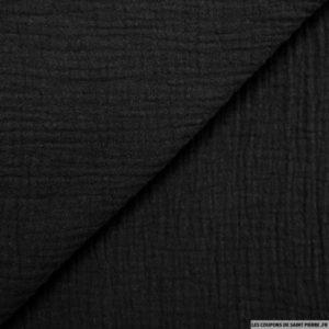 tissu-double-gaze-noir
