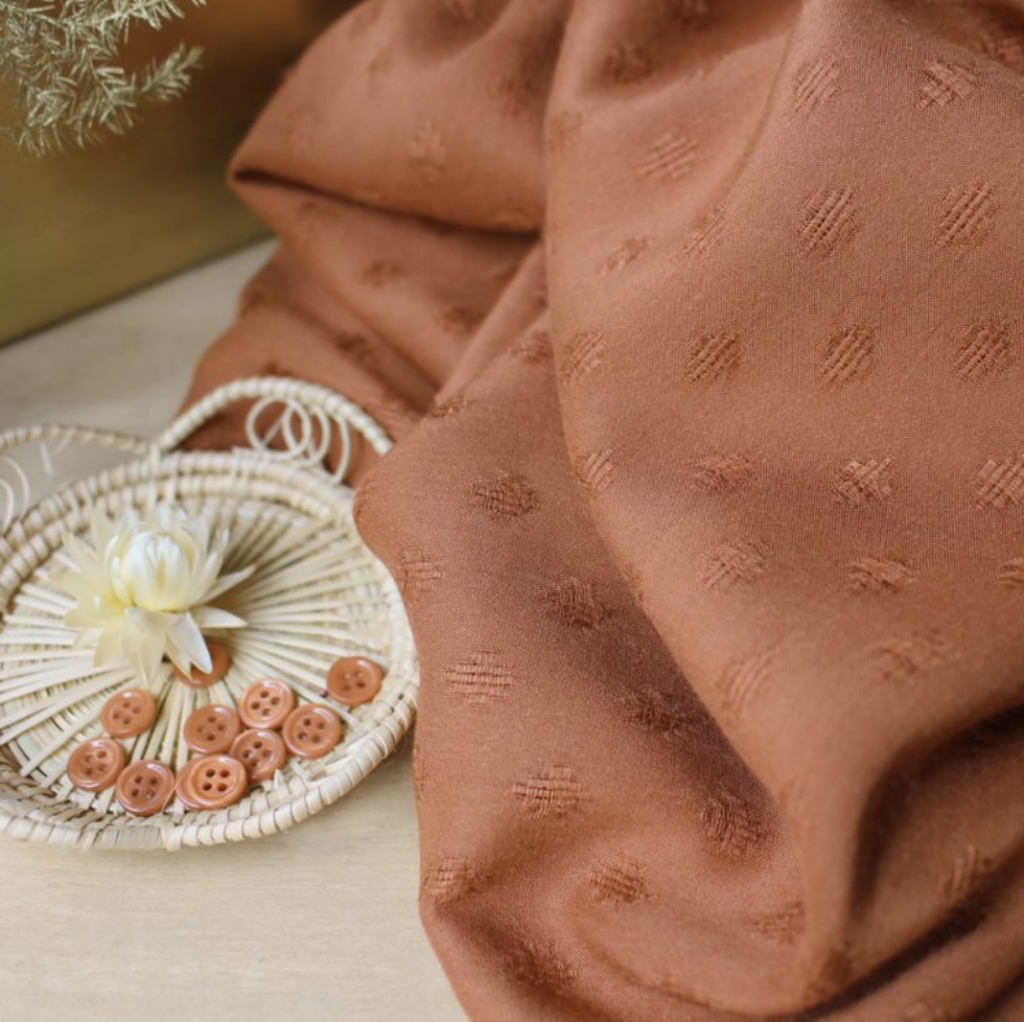 ATELIER BRUNETTE - Viscose Diamond Chestnut