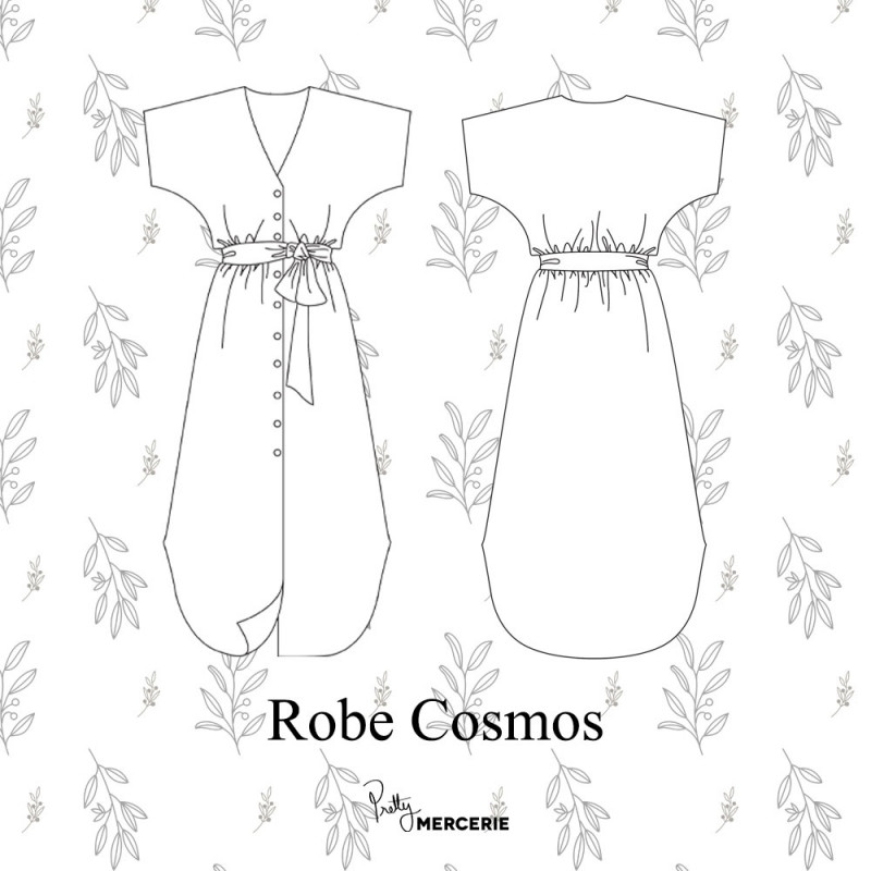 PRETTY MERCERIE - Robe Cosmos
